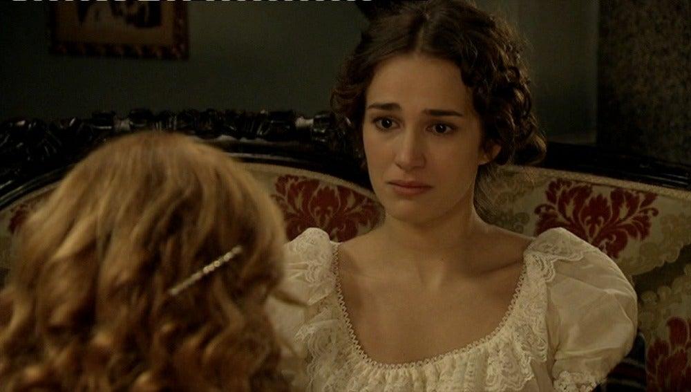 Jimena pide a Sara que no vuelva a engañarla