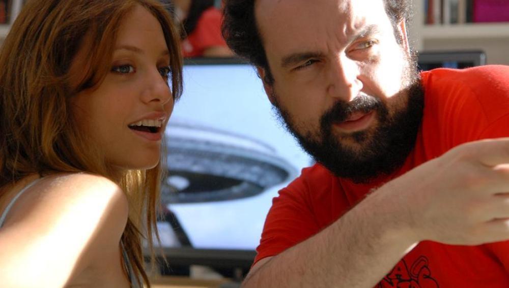 Michelle Jenner y Nacho Vigalondo
