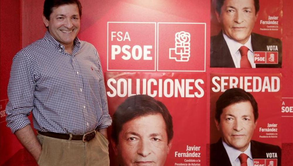 Javier Fernández candidato socialista en Asturias
