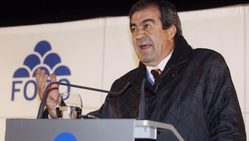 Francisco Álvarez Cascos, presidente de Foro Astuarias