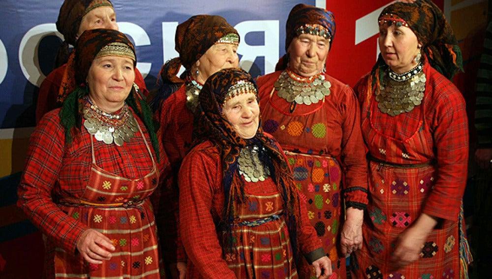 Un grupo de abuelas representa a Rusia en Eurovisión