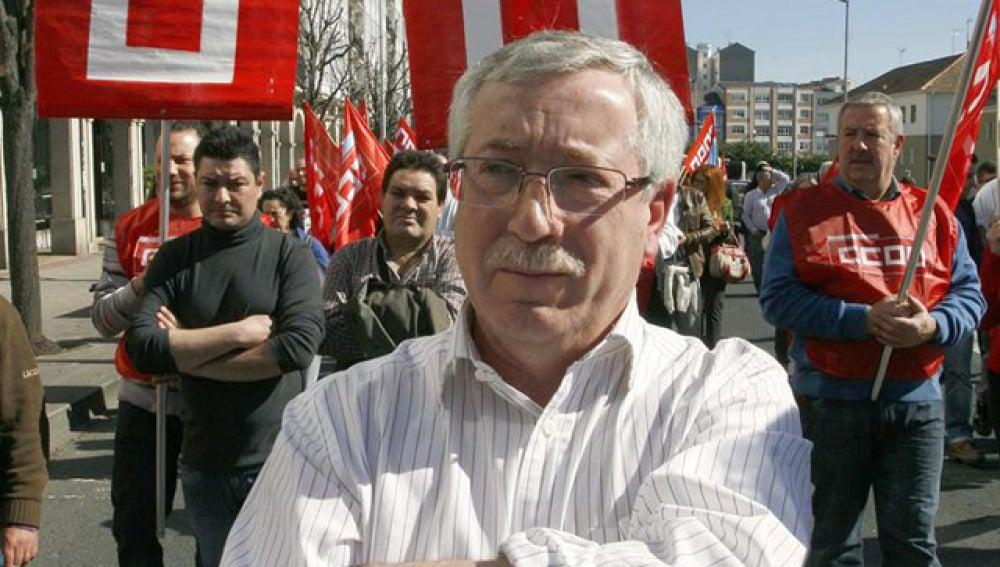 Ignacio Fernández Toxo, secretario gneeral de UGT