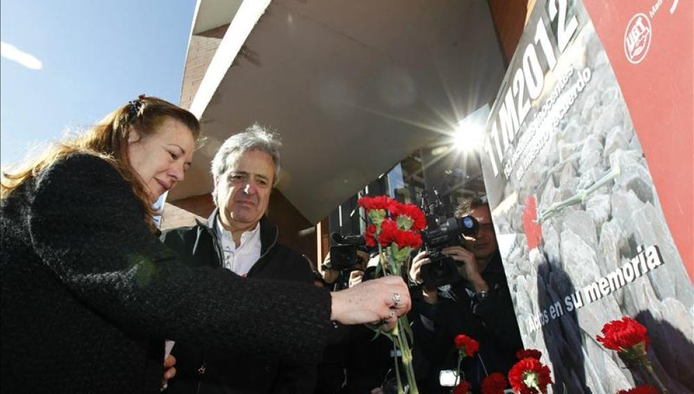 Homenaje a las víctimas del 11-M en Madrid