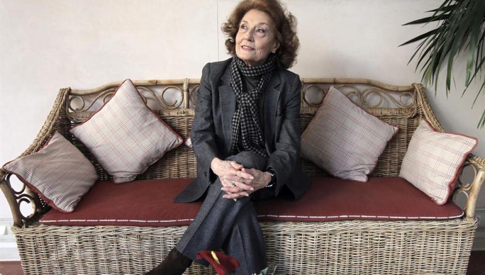 Julia Gutiérrez Caba, que ha sido galardonada con el Max de Honor