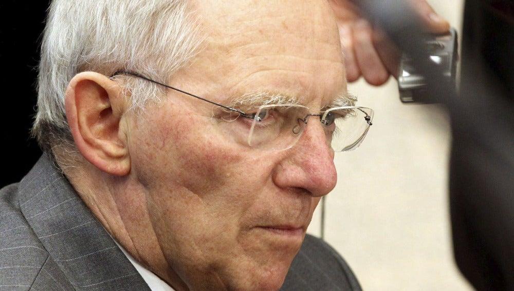 Wolfgang Schäuble, ministro de Finanzas alemán