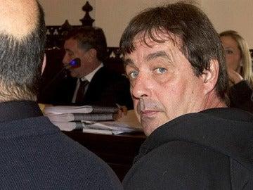 'El Solitario' durante el juicio por su último atraco