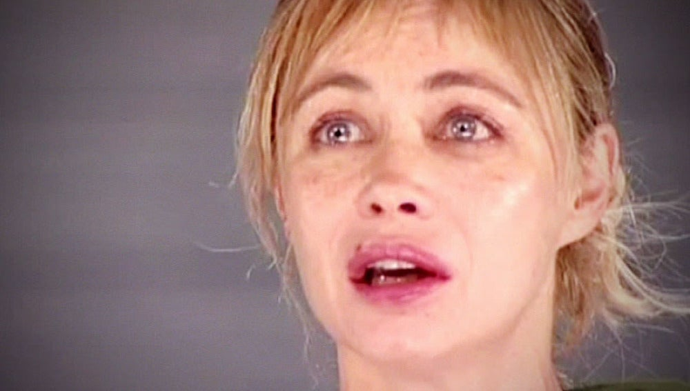 La actriz francesa Emmanuelle Béart
