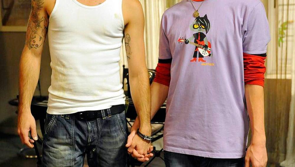 Mario Marzo se divierte con Luis Fernández