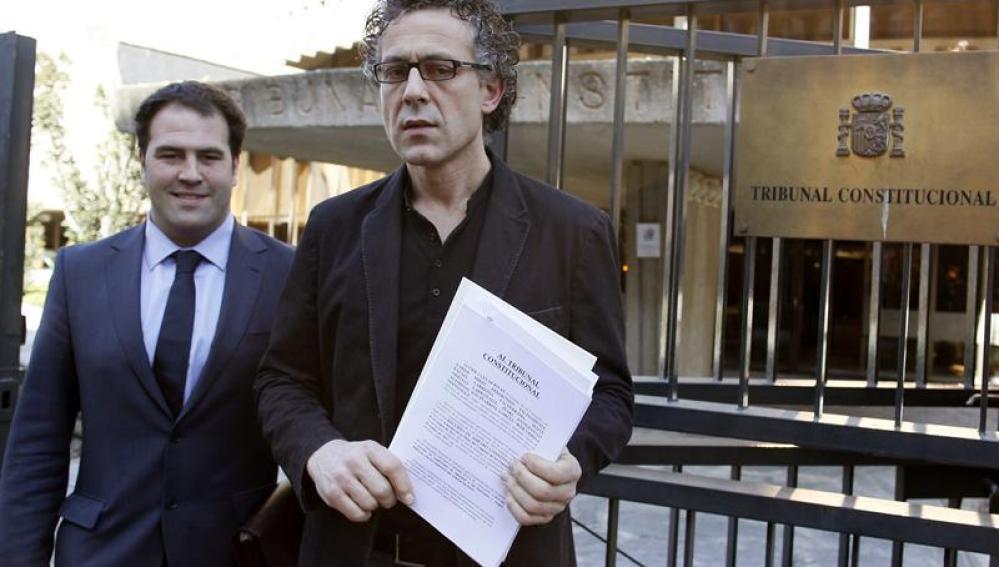 Los diputados de Amaiur Mikel Errecondo y Jon Iñarritu