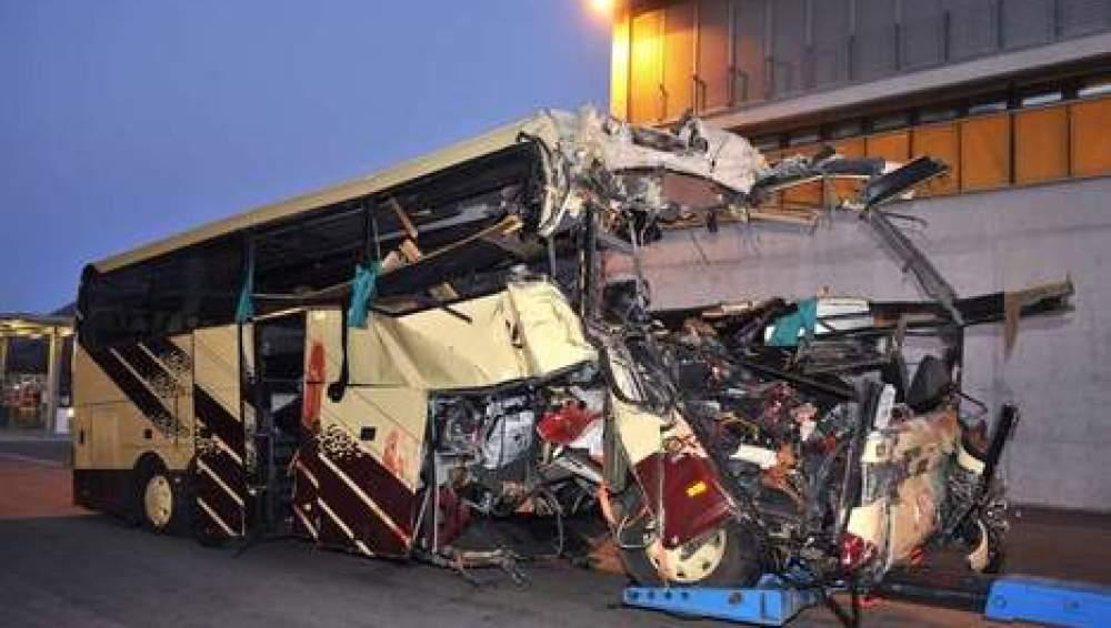 Accidente de autobús en Suiza