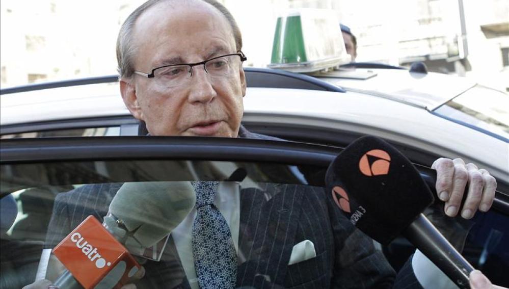 José María Ruiz-Mateos ha llegado a los juzgados de Palma