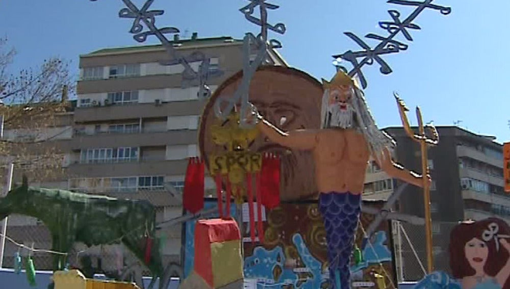 Fallas infantiles en Valencia
