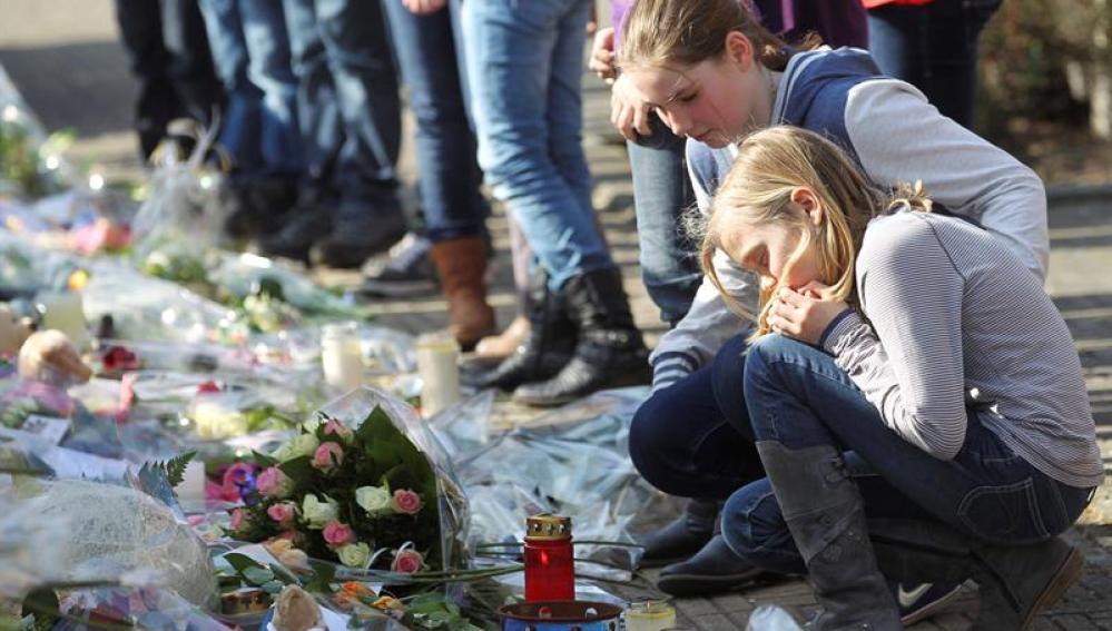 Recuerdan a las victimas del accidente