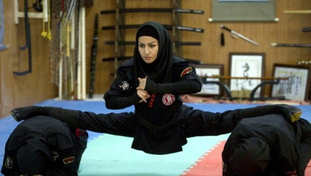 Una ninja iraní