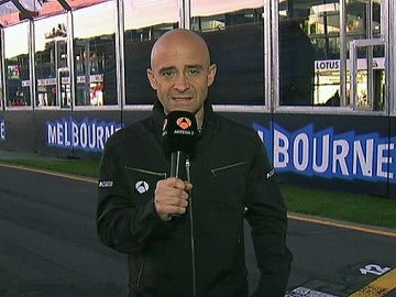 Análisis de la sesión de clasificación en Melbourne