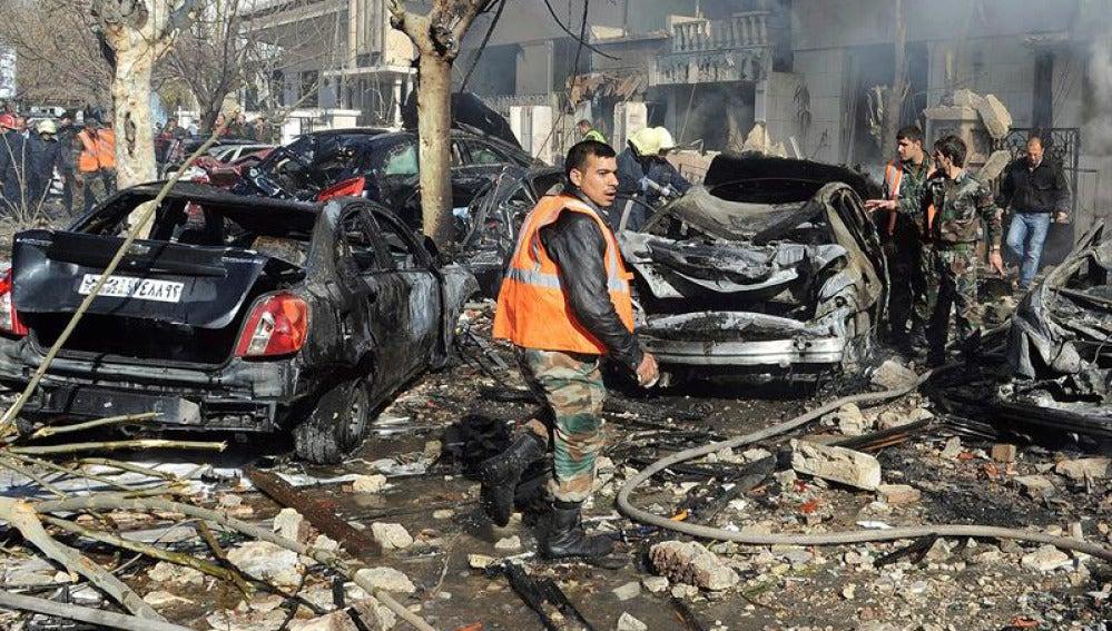 Doble atentado en Damasco