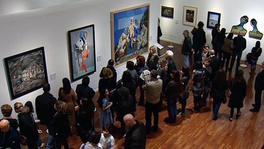 Exposición de Dalí en Roma