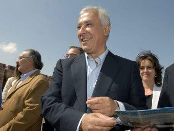 Javier Arenas durante la campaña