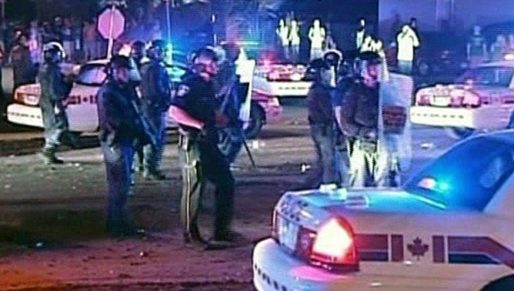 Graves disturbios en Canadá