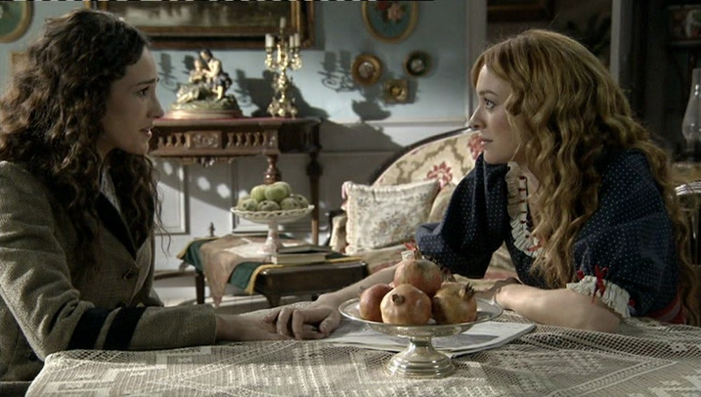 Sara ofrece a Jimena irse a Inglaterra con ella