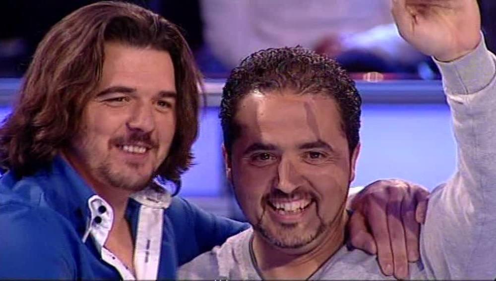 Isidoro y Jose en Atrapa un millón