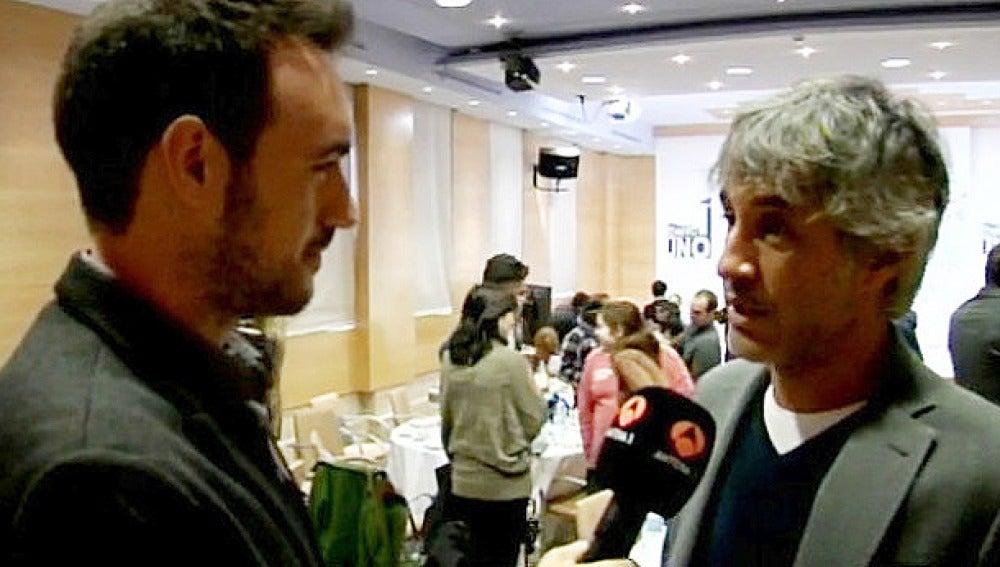 Sergio Dalma en la presentación de 'El Número Uno'
