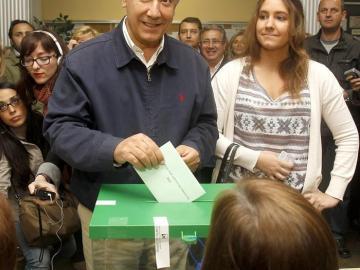 Javier Arenas vota