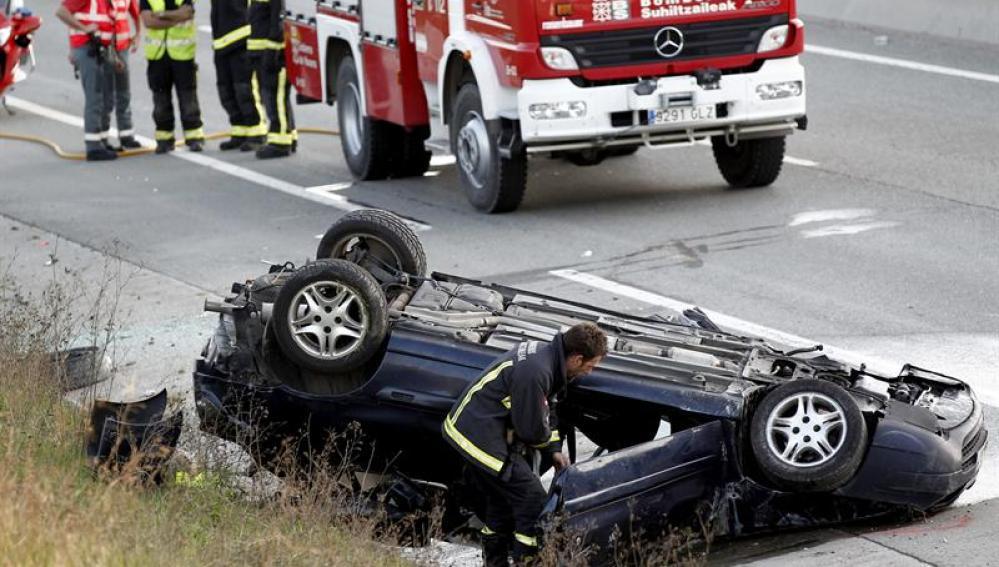 Accidente de tráfico en Huelva