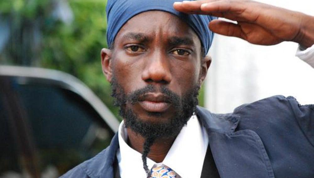 El rapero jamaicano Sizzla