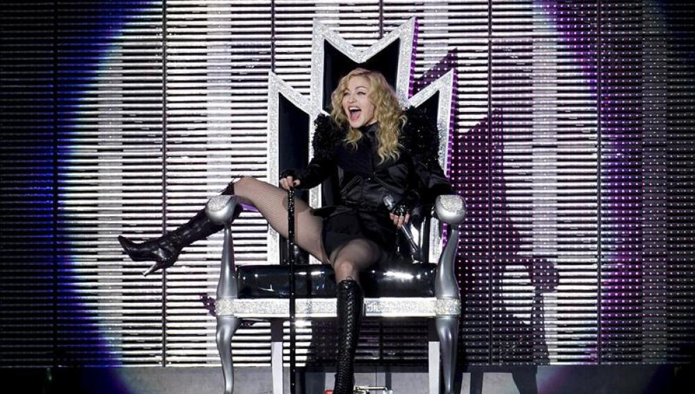 Madonna en un concierto