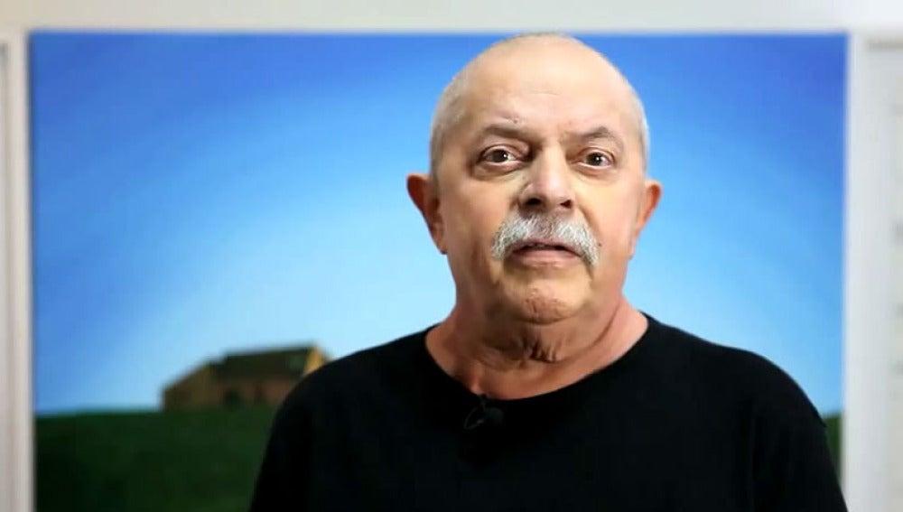 Lula da Silva en el vídeo difundido