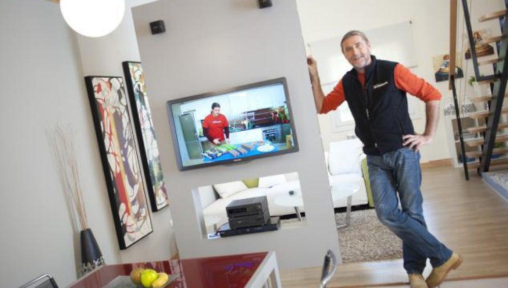 Antena 3 tv mueble multimedia giratorio - Mueble multimedia ...