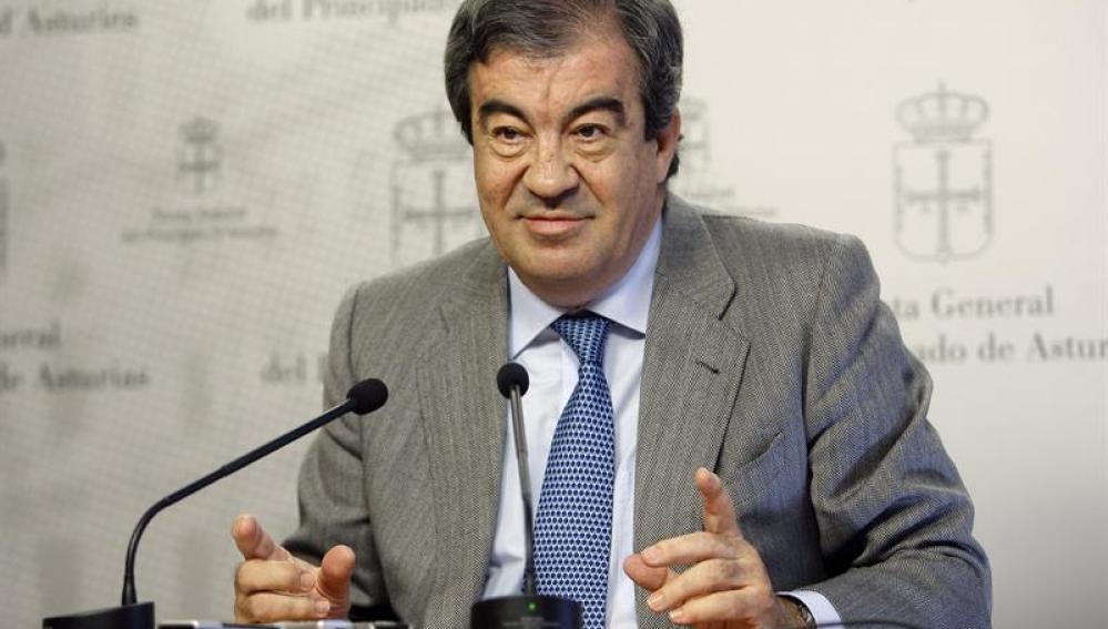 Francisco Álvarez Cascos, presidente de Foro Asturias