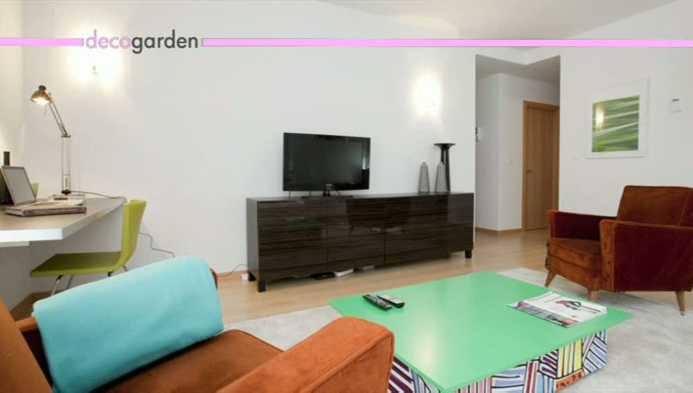 Un salón con estilo y 'low cost'