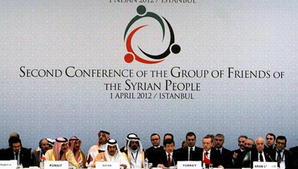 Conferencia de los 'Amigos de Siria' en Estambul