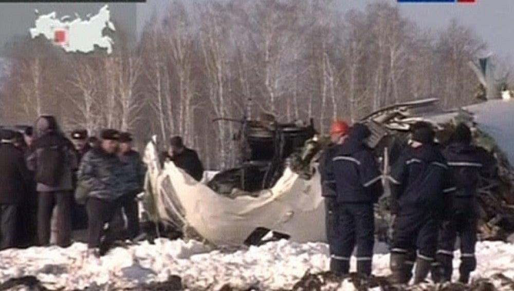 Accidente en Siberia
