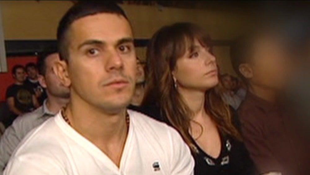 Lauro Sánchez junto a su esposa