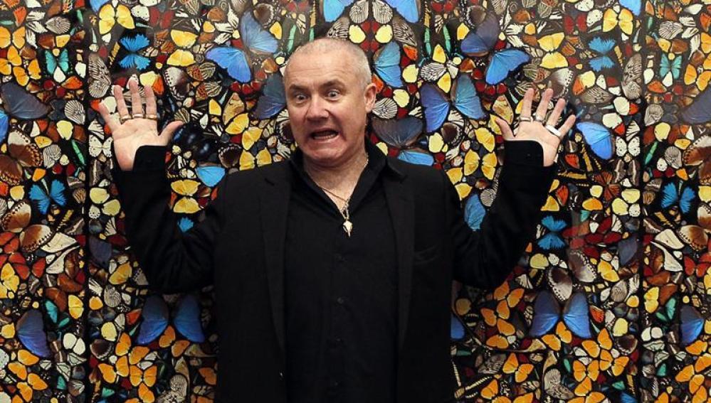 Damien Hirst expone en el Tate Modern.