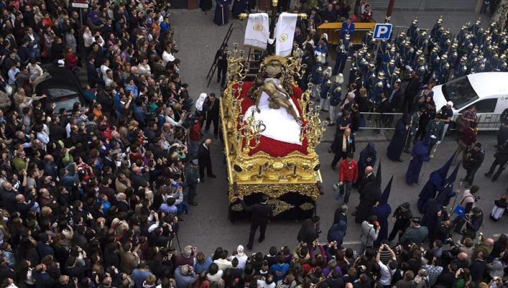 El Cristo de la Hermandad de El Baratillo de Sevilla