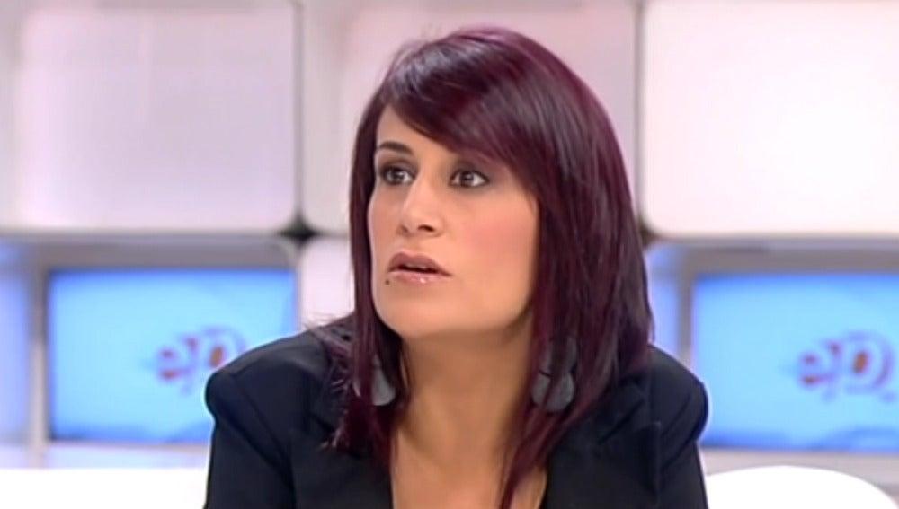 Rosa Tamames en Espejo Público