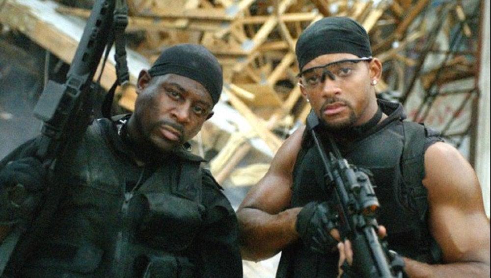 Escena de la película: Dos policías rebeldes