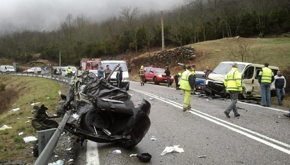 Una persona ha resultado muerta en un accidente de tráfico