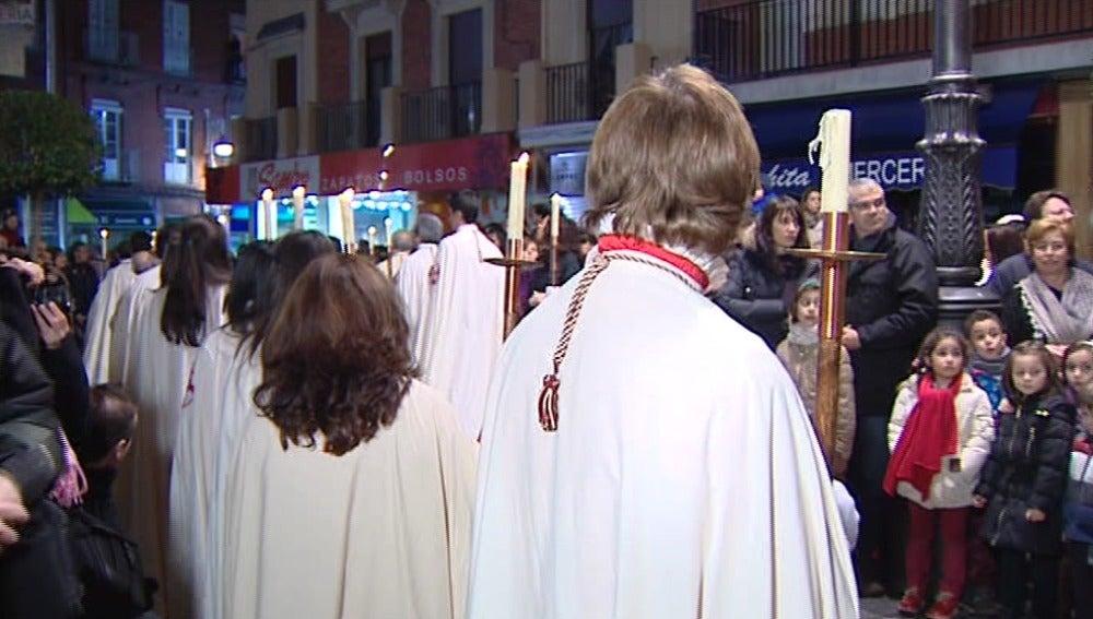 Valladolid vive con fervor el Viernes Santo