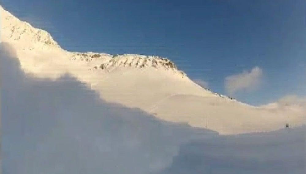 Avalancha de nieve en Noruega