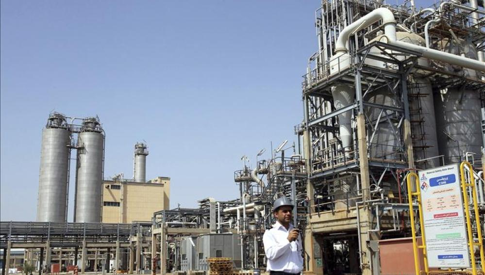 Planta petroquímica en Irán