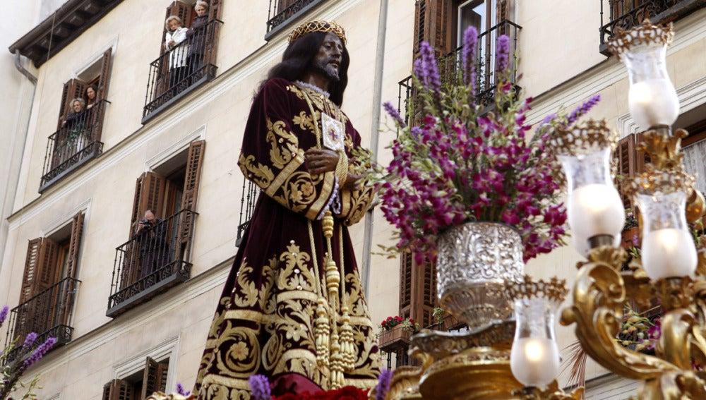 La imagen de Jesús Nazareno de Medinaceli