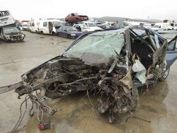 Accidente mortal por la lluvia en Vitoria