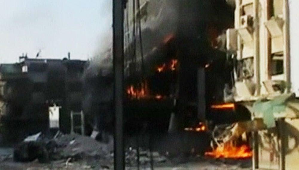 Los ataques continúan a sólo 24 horas del inicio del alto al fuego acordado.
