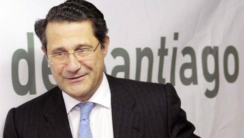 El alcalde de Santiago de Compostela, Gerardo Conde Roa