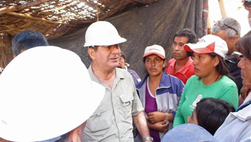 presidente del Consejo de Ministros de Perú, Oscar Valdés